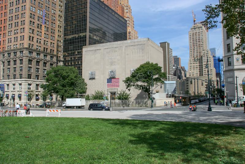 Διέξοδος σηράγγων μπαταριών του Μπρούκλιν στοκ εικόνα με δικαίωμα ελεύθερης χρήσης