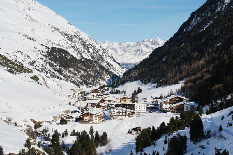 Διέξοδος, αυστριακές Άλπεις στοκ φωτογραφία με δικαίωμα ελεύθερης χρήσης