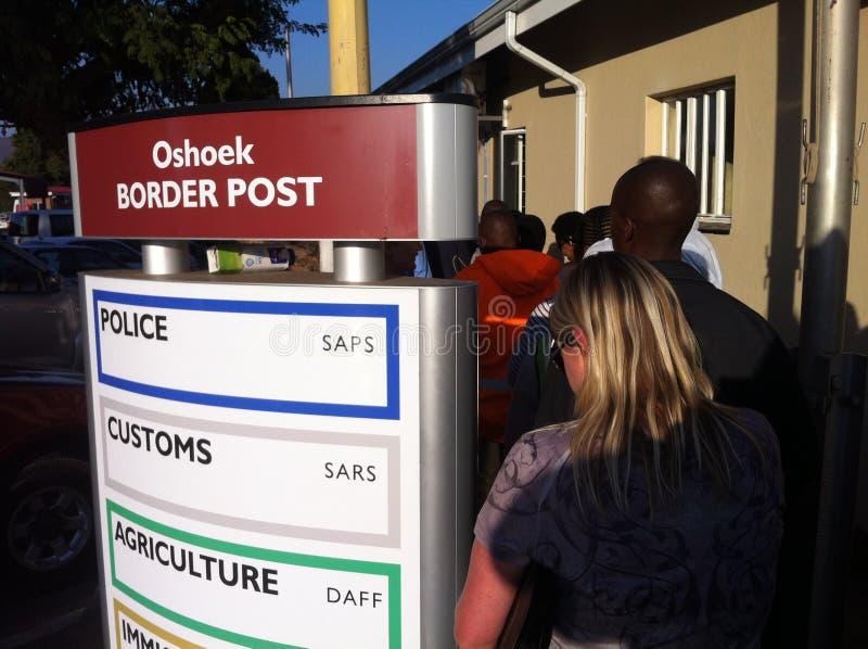 Διέλευση συνόρων στοκ εικόνα με δικαίωμα ελεύθερης χρήσης