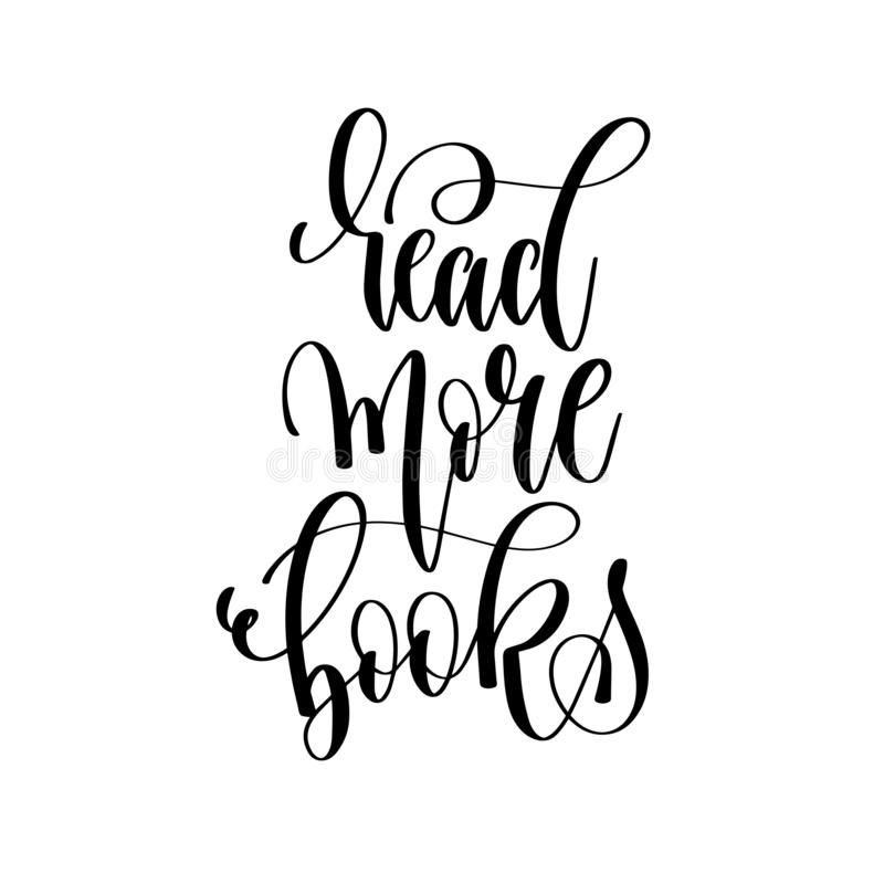 Διαβάστε περισσότερα βιβλία - δώστε το γράφοντας κείμενο επιγραφής απεικόνιση αποθεμάτων