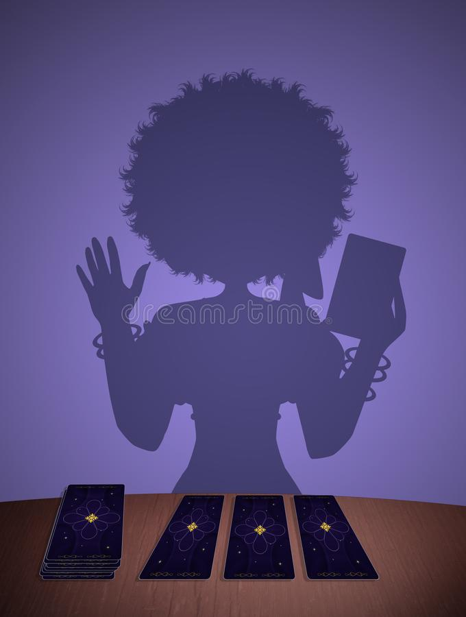 Διαβάστε το tarot ελεύθερη απεικόνιση δικαιώματος