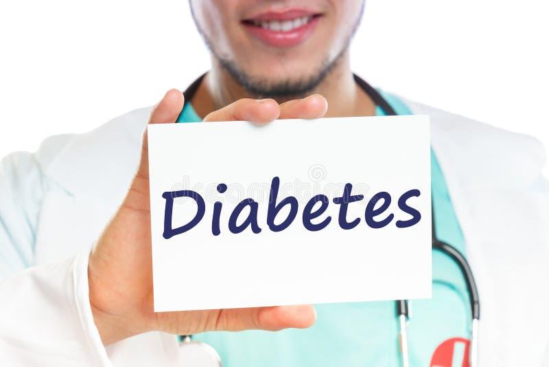 Διαβήτη ζάχαρης ασθενειών υγιής υγεία ασθένειας γιατρών ανεπαρκής στοκ φωτογραφίες με δικαίωμα ελεύθερης χρήσης
