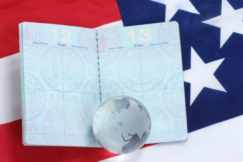 διαβατήριο εμείς στοκ εικόνα με δικαίωμα ελεύθερης χρήσης