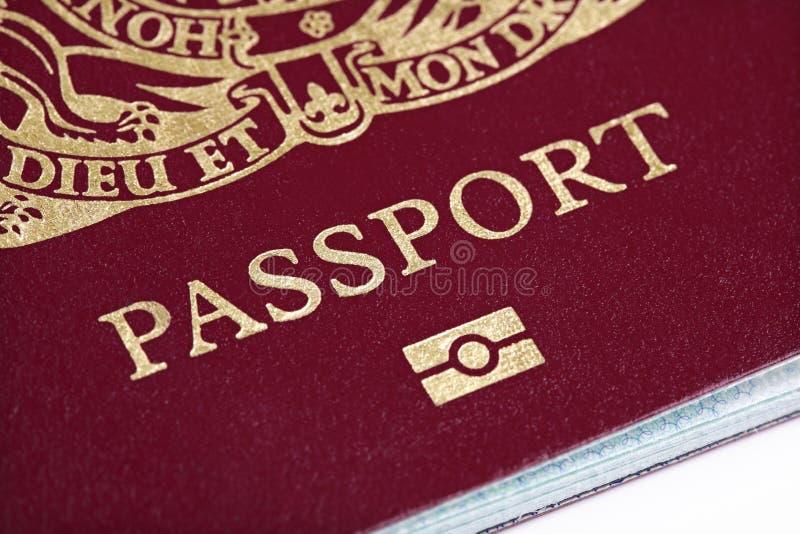 διαβατήριο UK στοκ φωτογραφίες