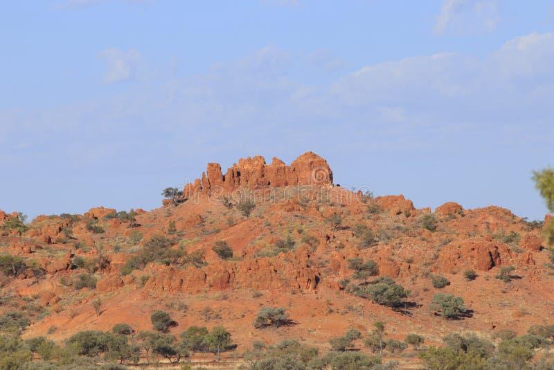 Διαβρωμένοι λόφοι στους λόφους Lillleyvale στοκ φωτογραφία με δικαίωμα ελεύθερης χρήσης
