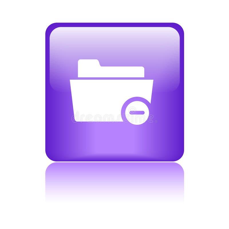 Διαγράψτε/αφαιρέστε το φάκελλο ελεύθερη απεικόνιση δικαιώματος