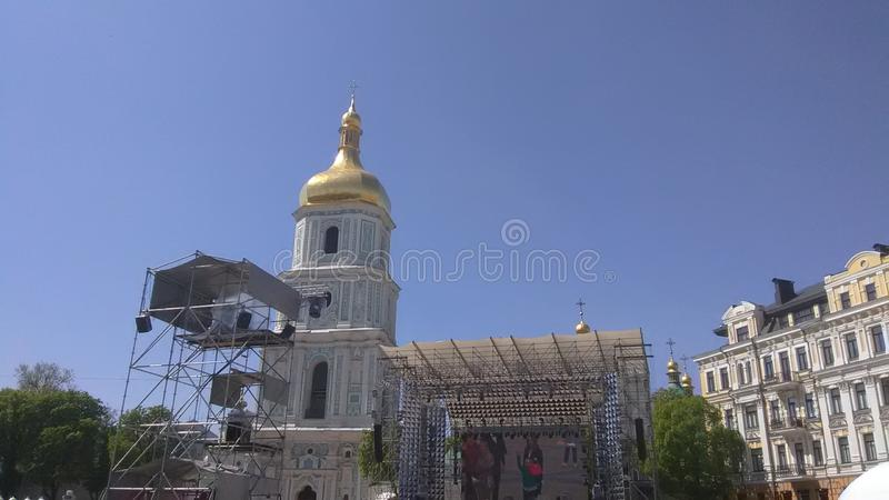 Διαγωνισμός τραγουδιού Eurovision 2017 - Κίεβο, Ουκρανία στοκ φωτογραφίες με δικαίωμα ελεύθερης χρήσης