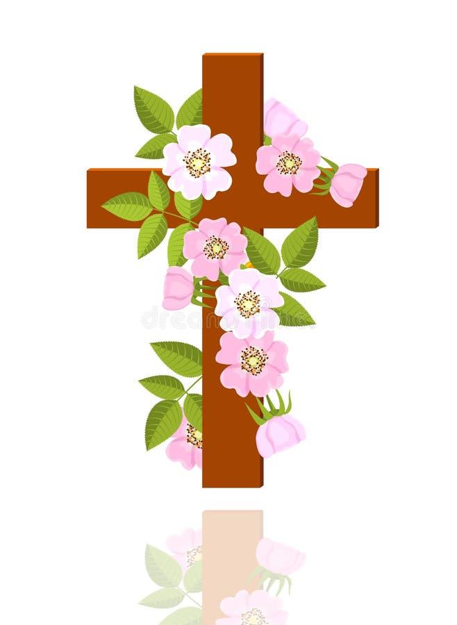 διαγώνια λουλούδια ελεύθερη απεικόνιση δικαιώματος