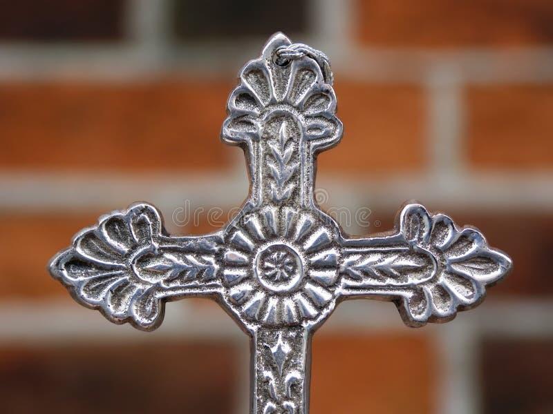 διαγώνιο ασήμι μετάλλων στοκ εικόνες