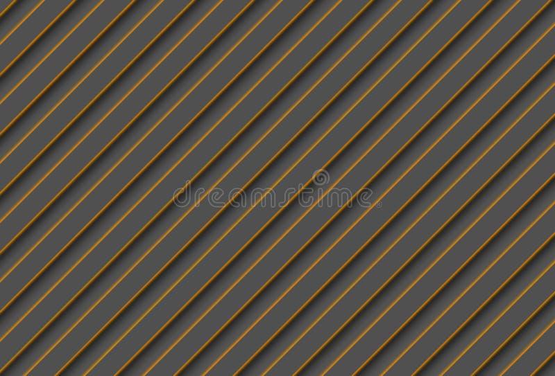 Διαγώνιο γκρίζο υπόβαθρο λωρίδων μορφών πορτοκαλί στοκ φωτογραφία με δικαίωμα ελεύθερης χρήσης