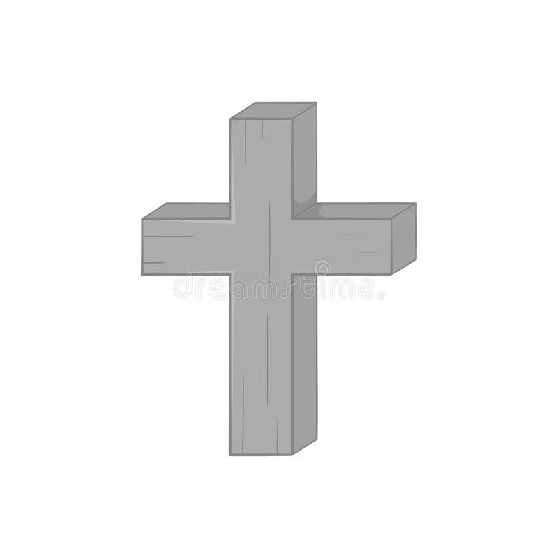Διαγώνιο εικονίδιο, μαύρο μονοχρωματικό ύφος απεικόνιση αποθεμάτων