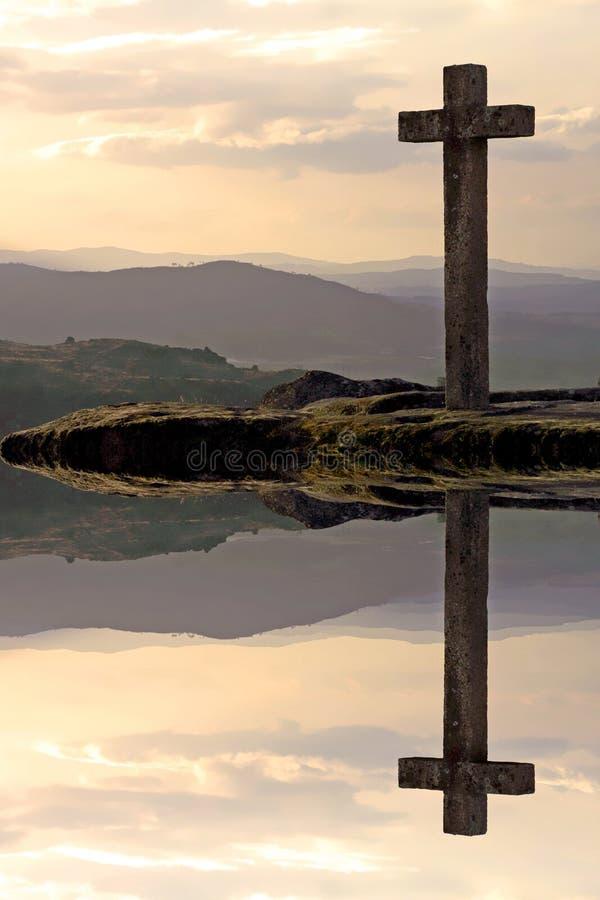 διαγώνιο ηλιοβασίλεμα ελεύθερη απεικόνιση δικαιώματος