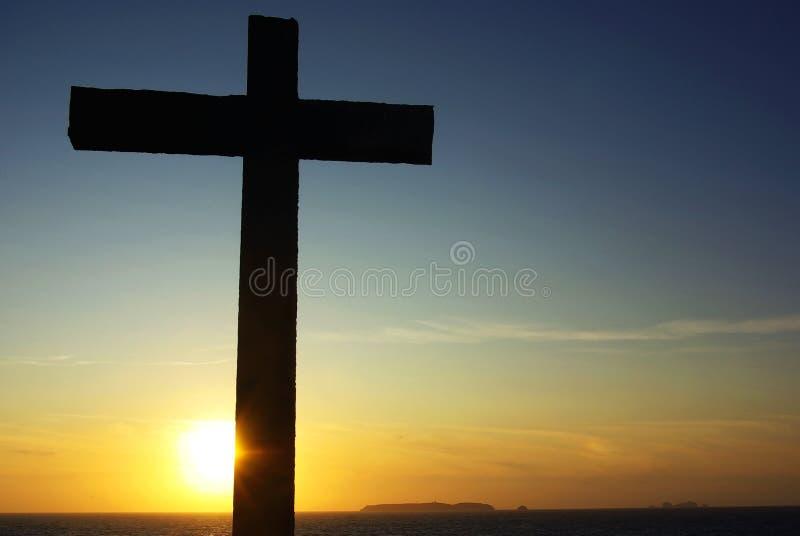 διαγώνιο ηλιοβασίλεμα &Ch στοκ εικόνες