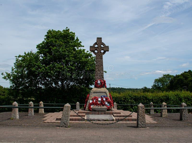 Διαγώνιο μνημείο Arborfield στοκ εικόνες