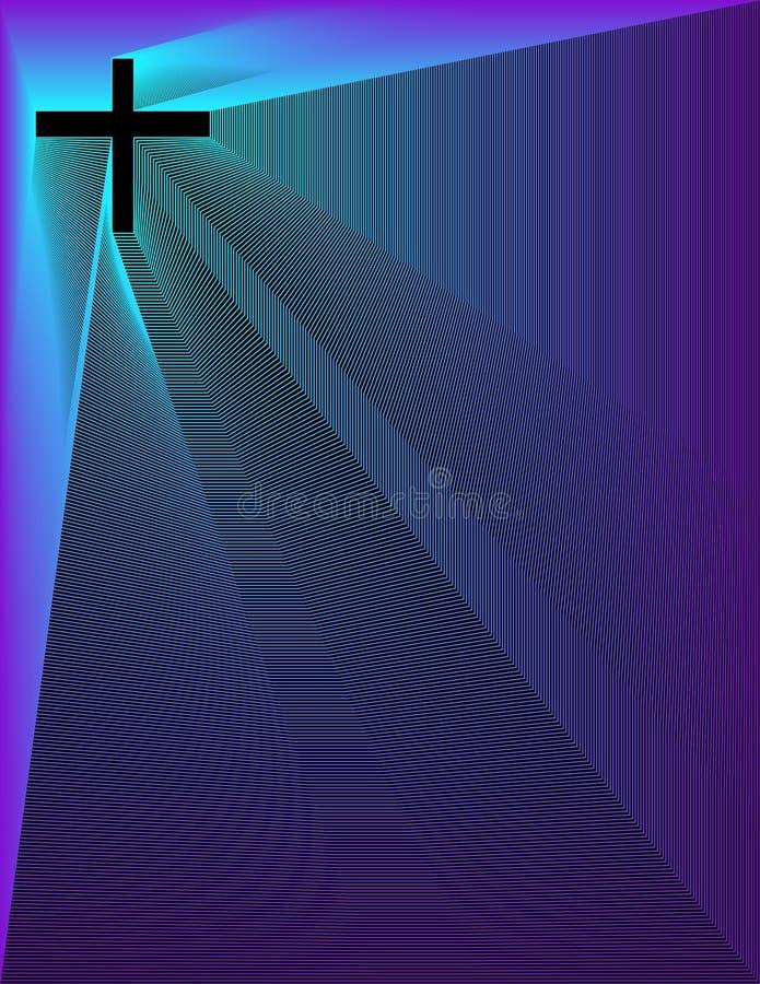 διαγώνιο peacock β purp sm απεικόνιση αποθεμάτων