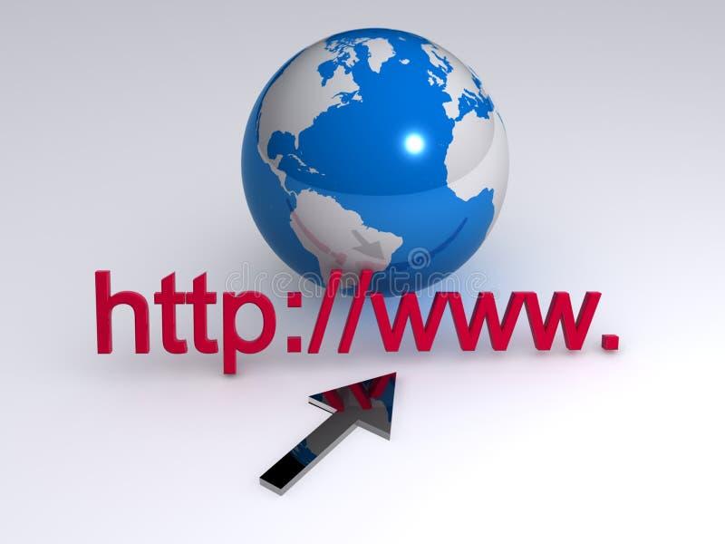 Διαδίκτυο www ελεύθερη απεικόνιση δικαιώματος