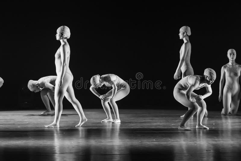 Διαδοχικά χορός ` ευθύς-Huang Mingliang ` s κανένα καταφύγιο ` στοκ εικόνα