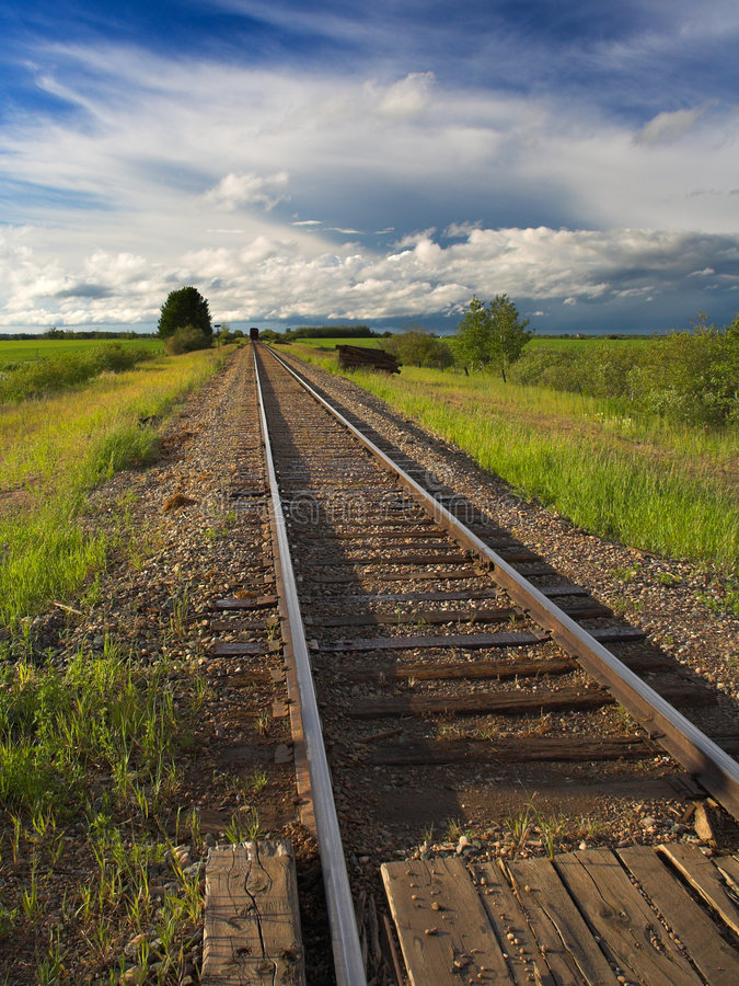 διαδρομές σιδηροδρόμου στοκ εικόνες με δικαίωμα ελεύθερης χρήσης