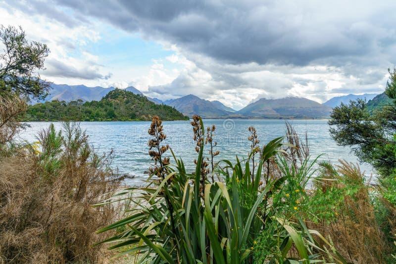 Διαδρομή όρμων βαριδιών πεζοπορίας στο wakatipu λιμνών στο queenstown, otago, Νέα Ζηλανδία 11 στοκ φωτογραφίες