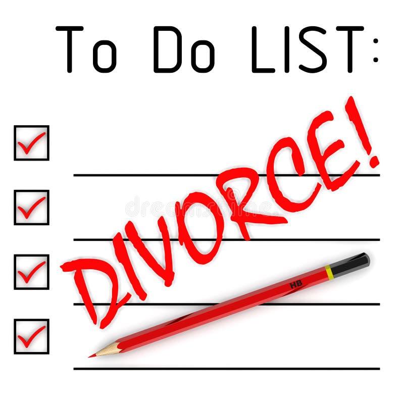 Διαζύγιο! Για να κάνει τον κατάλογο απεικόνιση αποθεμάτων