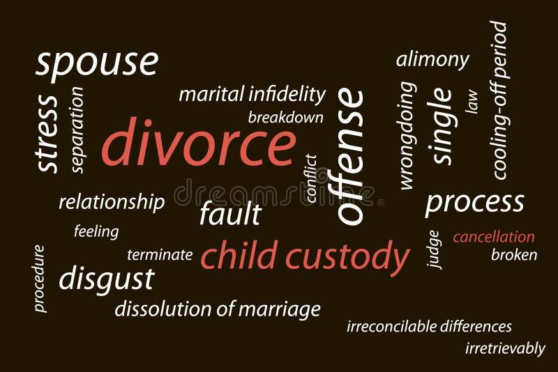 διαζύγιο απεικόνιση αποθεμάτων