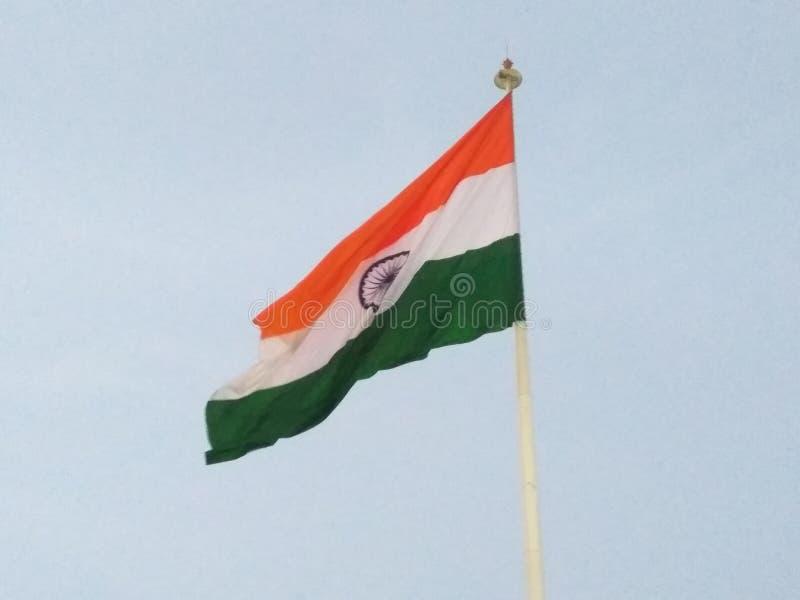 διαθέσιμο διάνυσμα ύφους της Ινδίας γυαλιού σημαιών στοκ εικόνα με δικαίωμα ελεύθερης χρήσης