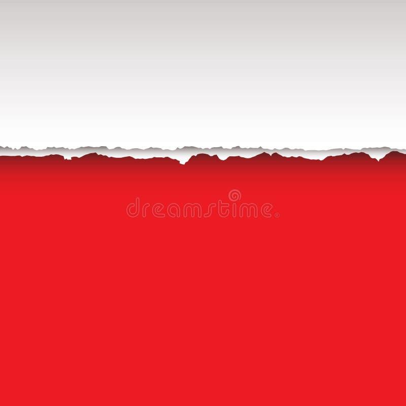διαιρέστε το κόκκινο δάκρ ελεύθερη απεικόνιση δικαιώματος