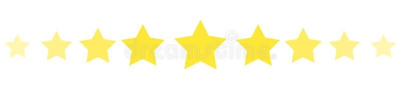 Διαιρέτης αστεριών r απεικόνιση αποθεμάτων