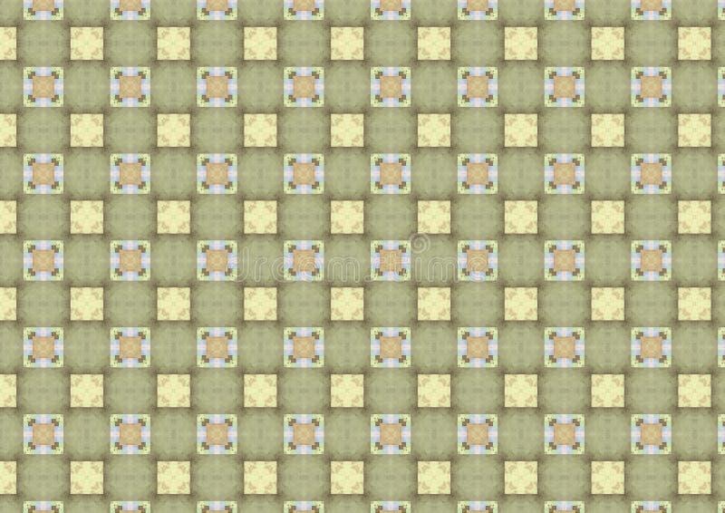 διαιρεσμένα σε τετράγωνα ελαφριά κεραμίδια προτύπων στοκ εικόνα με δικαίωμα ελεύθερης χρήσης