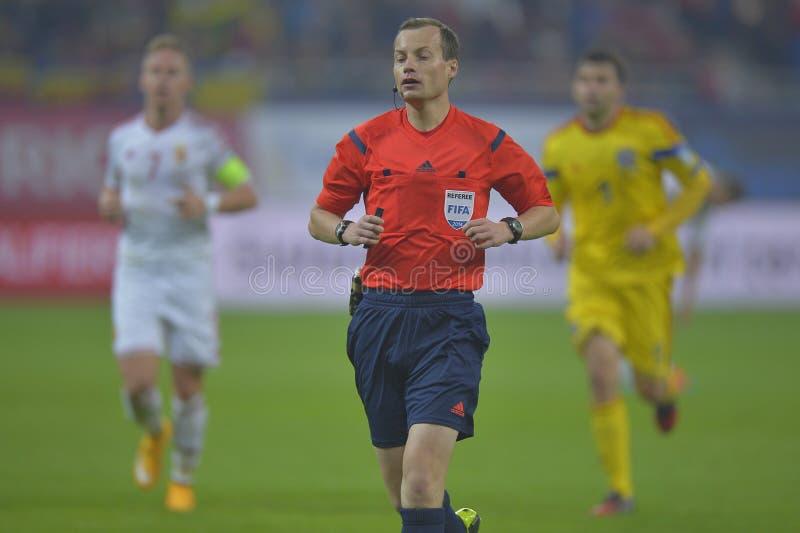 Διαιτητής ποδοσφαίρου, William στοκ εικόνες