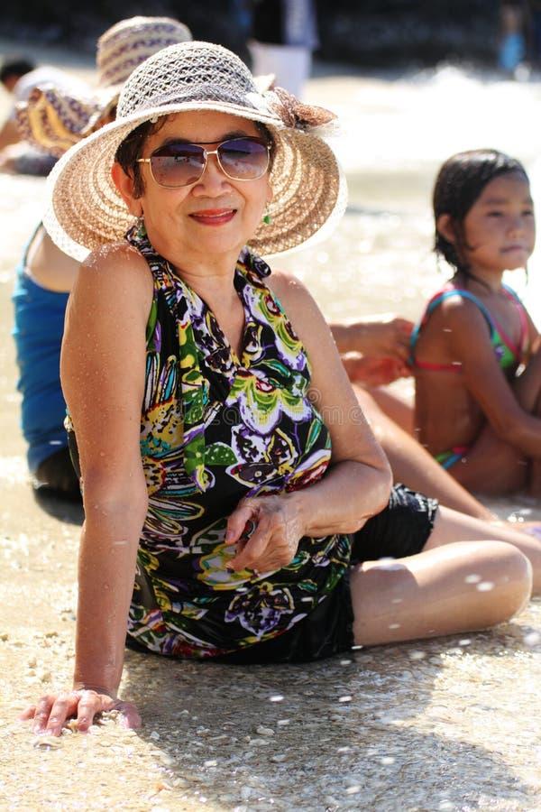 διακοπές γιαγιάδων στοκ φωτογραφίες