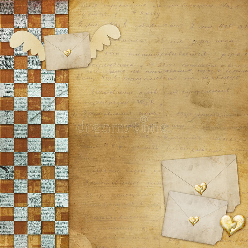 διακοπές καρδιών συγχαρ&e διανυσματική απεικόνιση