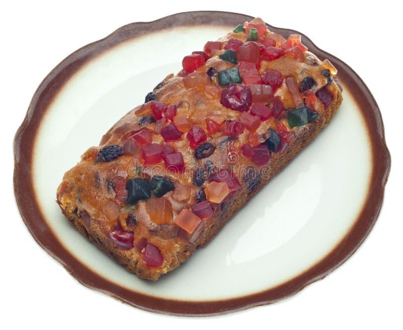 Download διακοπές καρπού κέικ στοκ εικόνα. εικόνα από ανοχή, πιάτο - 17059489