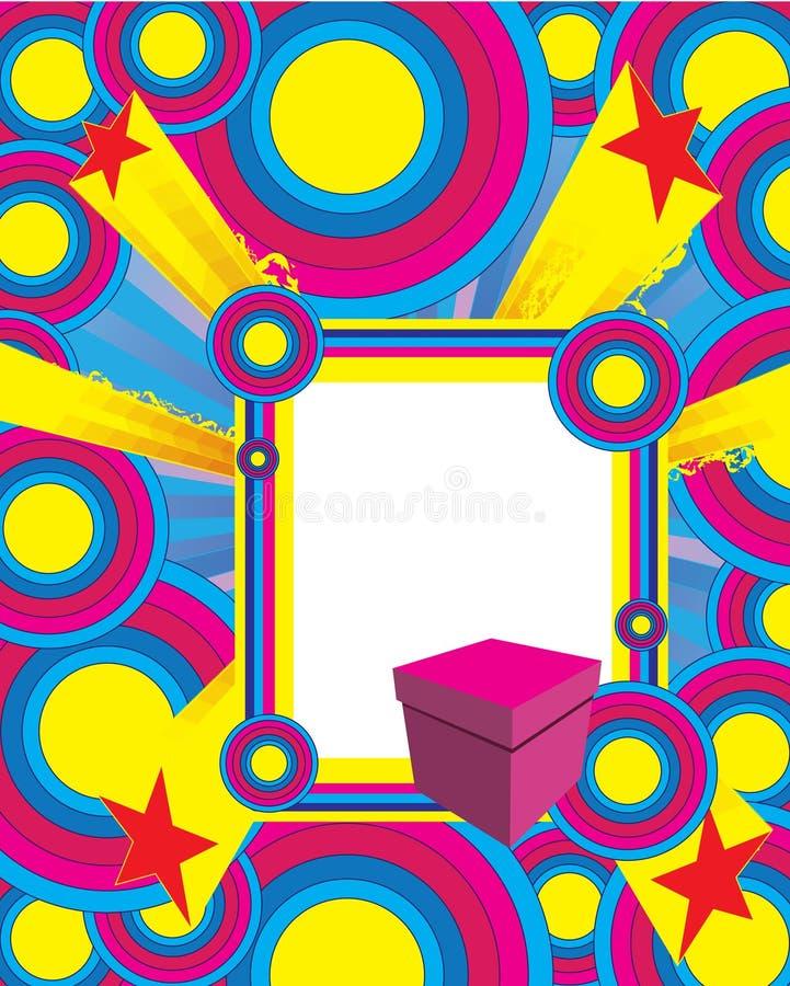 διακοπές καρτών διανυσματική απεικόνιση