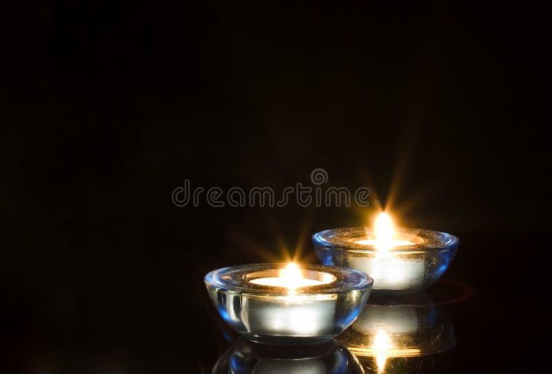 διακοπές κεριών στοκ εικόνες