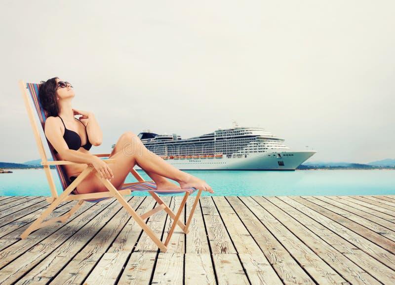 Διακοπές κρουαζιέρας στοκ εικόνα με δικαίωμα ελεύθερης χρήσης