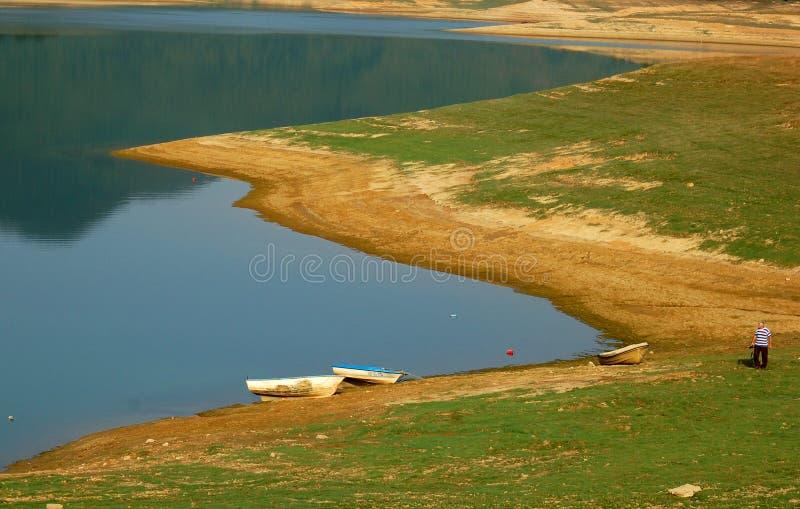 διακοπές λιμνών στοκ φωτογραφία