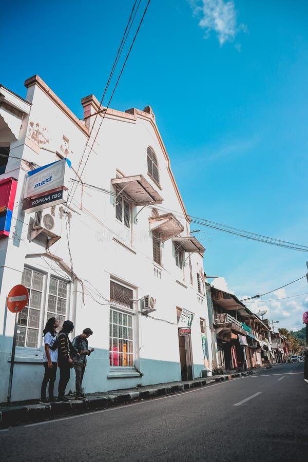Διακοπές στην παλαιά πόλη στοκ φωτογραφίες με δικαίωμα ελεύθερης χρήσης