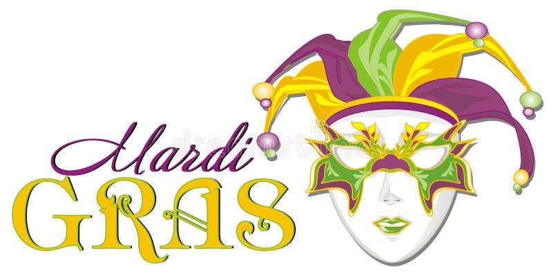 Διακοπές της Mardi Gras ελεύθερη απεικόνιση δικαιώματος