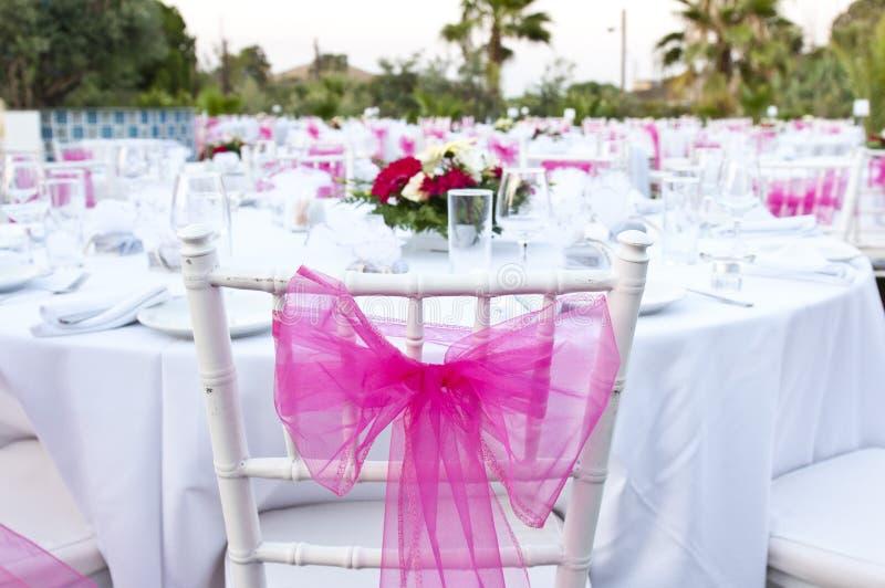 Διακοσμήσεις γαμήλιων πινάκων στοκ εικόνες με δικαίωμα ελεύθερης χρήσης