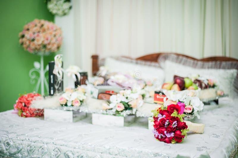 Διακοσμήσεις γαμήλιων δώρων στοκ φωτογραφία με δικαίωμα ελεύθερης χρήσης