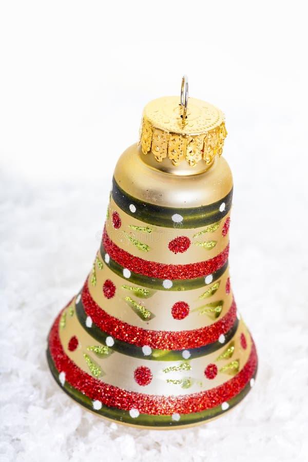 Διακοσμήσεις κουδουνιών Χριστουγέννων στοκ φωτογραφία με δικαίωμα ελεύθερης χρήσης