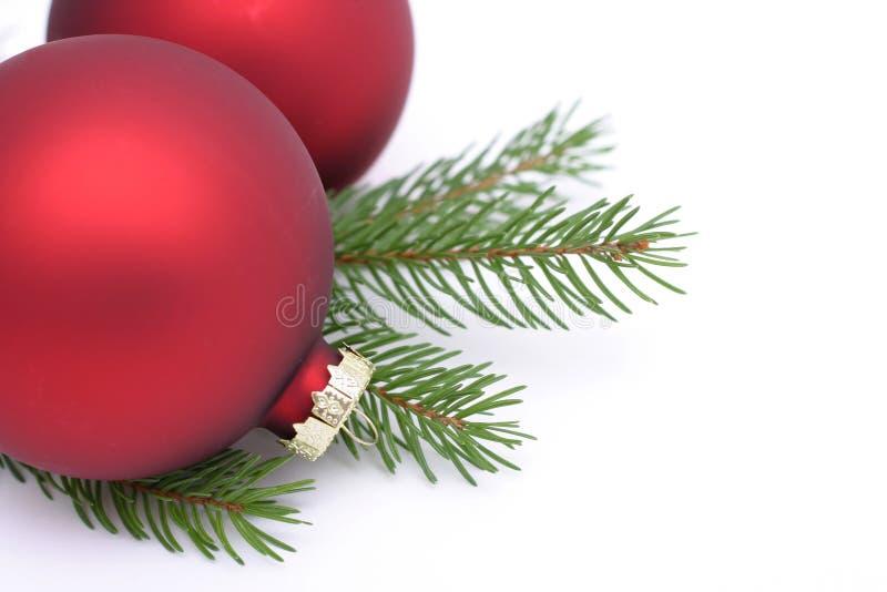 διακοσμήσεις Χριστουγέννων στοκ εικόνα