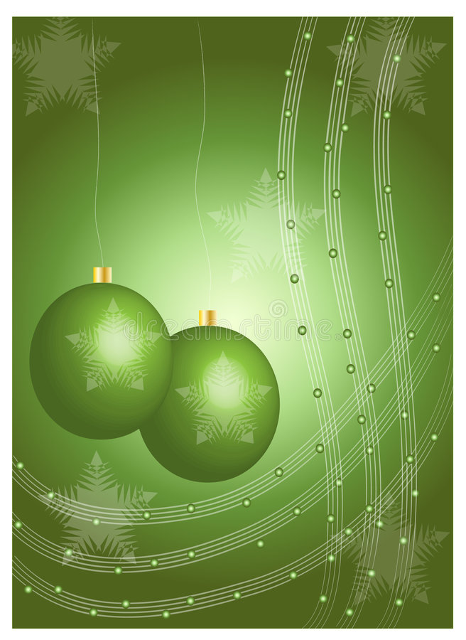 Διακοσμήσεις Χριστουγέννων απεικόνιση αποθεμάτων