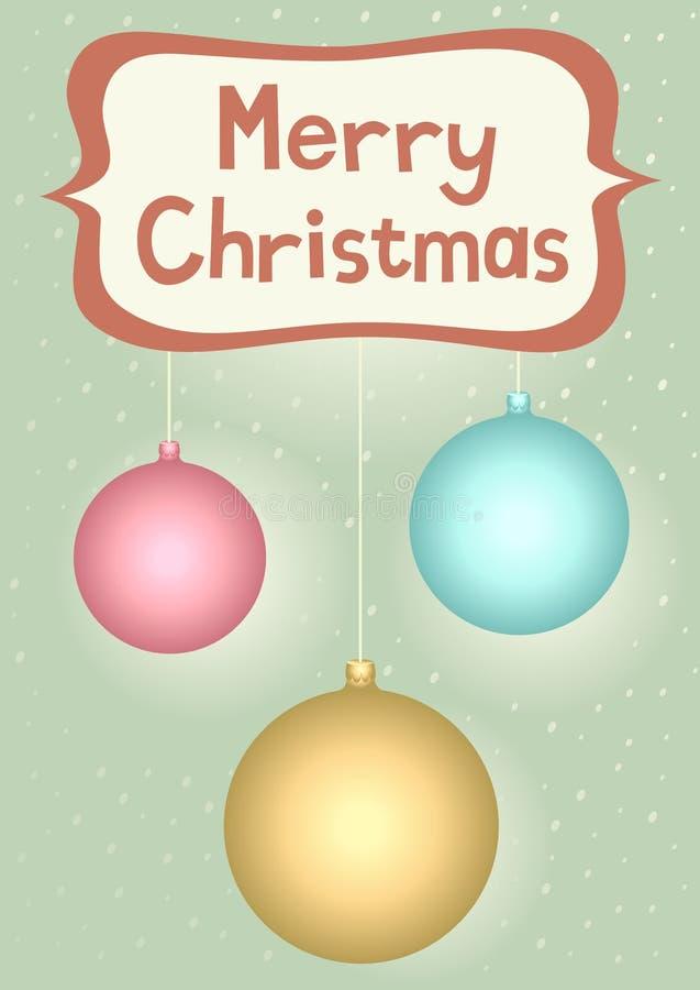 διακοσμήσεις Χριστου&gamm διανυσματική απεικόνιση