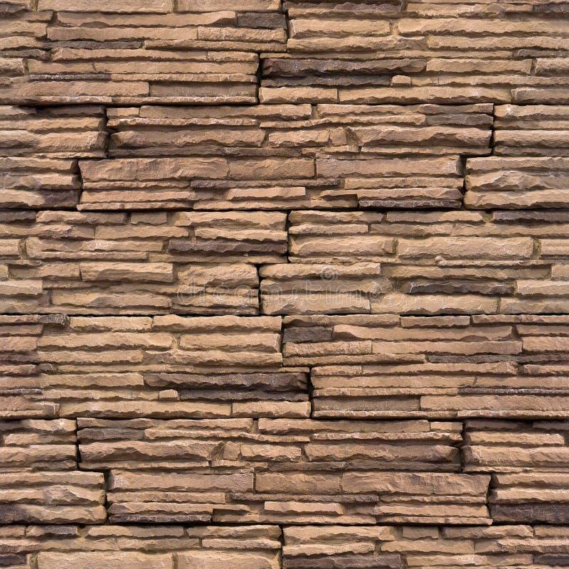 Διακοσμητικά κεραμίδια τοίχων - άνευ ραφής υπόβαθρο - σχέδιο πετρών στοκ εικόνες
