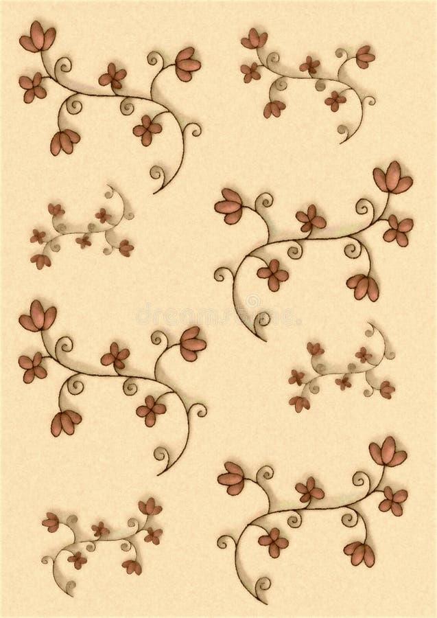 διακοσμητικά λουλούδι& απεικόνιση αποθεμάτων