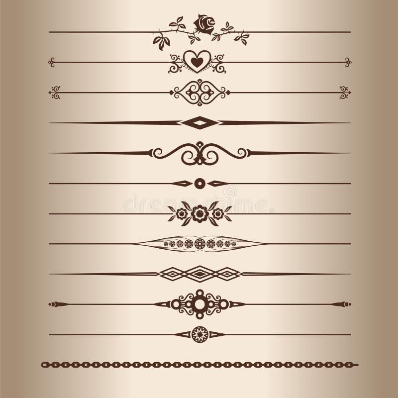διακοσμητικές γραμμές στοκ φωτογραφία με δικαίωμα ελεύθερης χρήσης