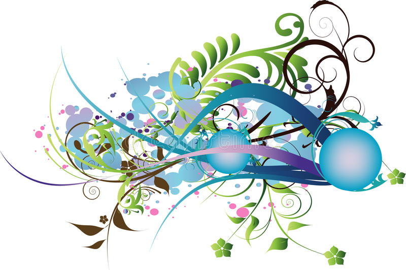 Διακοσμητική ανασκόπηση λουλουδιών στοκ εικόνες με δικαίωμα ελεύθερης χρήσης