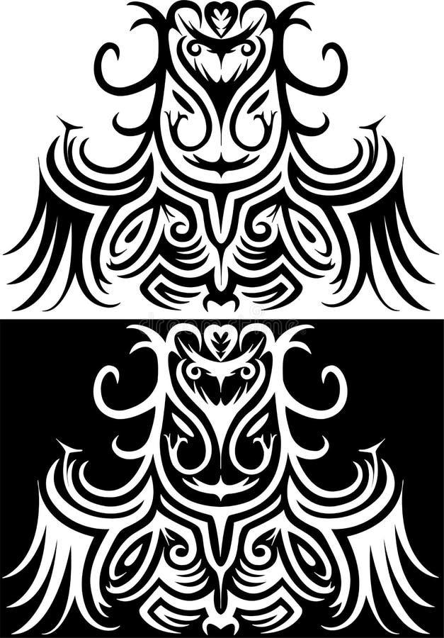 Διακοσμητική απεικόνιση Druid ελεύθερη απεικόνιση δικαιώματος